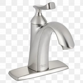 Faucet - Brushed Metal Tap Sink American Standard Brands EPA WaterSense PNG