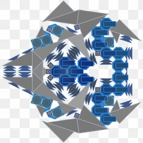 Khanda - Manta Cube Symmetry PNG