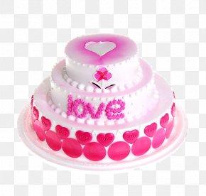 Birthday Cake Delicious Dessert - Icing Chiffon Cake Birthday Cake Cream Muffin PNG