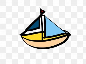 Boat - Sailboat Ship Cartoon PNG