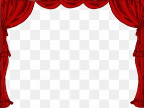Curtain Cliparts - Theater Drapes And Stage Curtains Theatre Front Curtain PNG