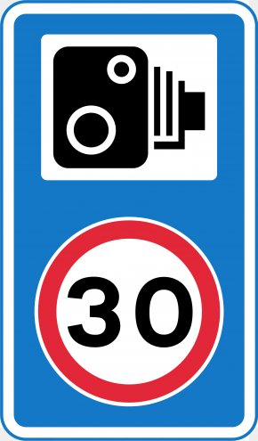 Traffic Signs - Traffic Sign Traffic Enforcement Camera Speed Limit PNG