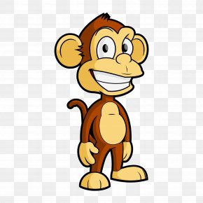 Cartoonist Cliparts - Tufted Capuchin Cartoon Monkey Clip Art PNG