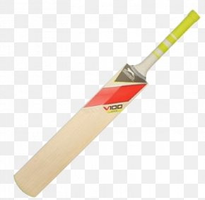 Cricket Bat Transparent - Cricket Bat Baseball Bat Sport PNG