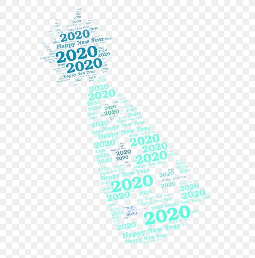Happy New Year Logo 2020, PNG, 602x830px, 2020, Happy New Year 2020, Aqua, Happy New Year, Logo Download Free