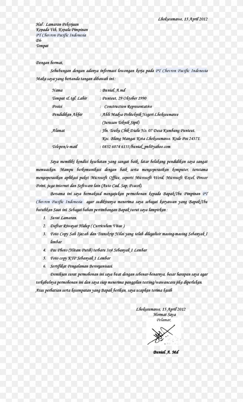 Cover Letter Application For Employment Résumé, PNG ...