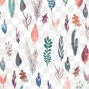 Watercolor Floral Decoration Vector Background - Watercolor Painting Flower PNG