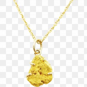 Nugget - Charms & Pendants Necklace Jewellery Earring Gold PNG