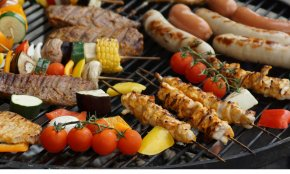 BBQ - Barbecue Grill Shish Kebab Barbecue Chicken Grilling Cooking PNG