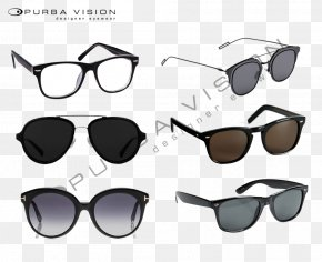 Technology Sense Line - Sunglasses Goggles Product Design PNG