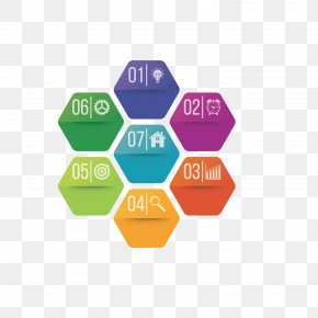 Colored Hexagon - Research Retail Business Gel Nails Industry PNG