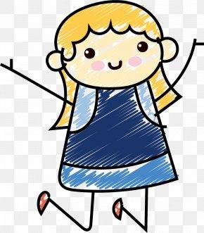 Summer Activities Kids - Clip Art Illustration Human Behavior Shoe Line PNG