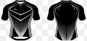 T-shirt - T-shirt Black Product Design Sleeve PNG