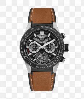Watch - Watch TAG Heuer Chronograph Tourbillon Movement PNG