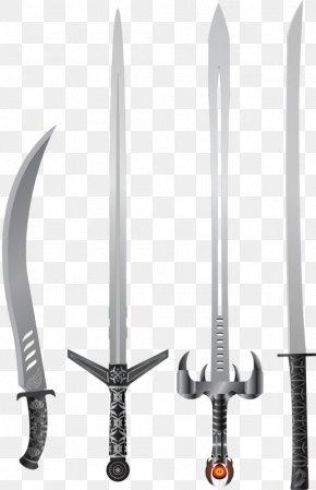 Sword Weapon - Knife Sabre Weapon Sword PNG