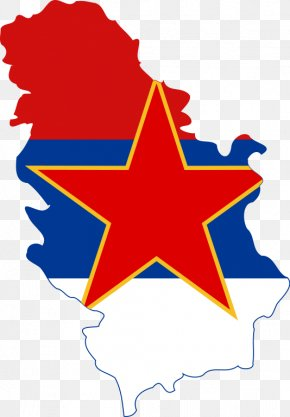 Flag - Flag Of Serbia Socialist Republic Of Serbia Serbia And Montenegro Kingdom Of Serbia PNG