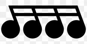 M Logo Brand ProductMusic Note Frame - Clip Art Black & White PNG