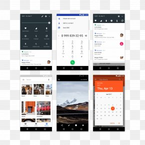 Tmall Taobao Free Creative Design Material - Android Nougat User Interface Design Graphical User Interface PNG
