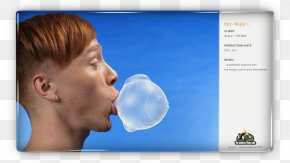 Chewing Gum - Chin Jaw Ear Nose PNG