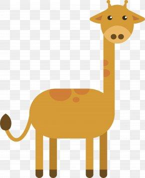 Cartoon Giraffe - Northern Giraffe Cartoon Comics PNG
