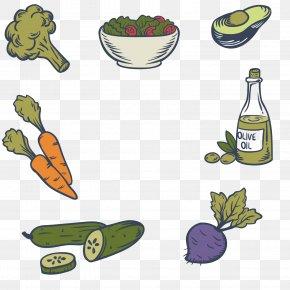 Healthy Vegetables Olive Oil - Alimento Saludable Vegetable Food Salad Radish PNG
