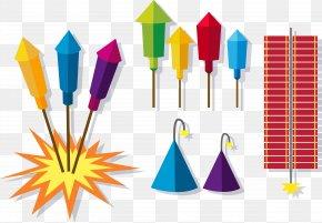 Vector Fireworks - Graphic Design Fireworks Firecracker PNG