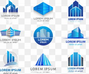 Vector LOGO - Logo Building Real Estate PNG
