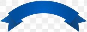 Blue Ribbon - Web Banner Clip Art PNG