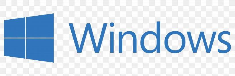 Windows 10 Microsoft Logo Computer Software Png 4250x1389px Windows 10 Area Blue Brand Computer Software Download