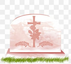 Cemetery - Cemetery New Grave Headstone Vase PNG