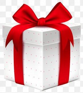 Golden Gift - Christmas Gift Santa Claus Clip Art PNG