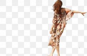Long Skirt Long Hair - Long Hair Woman Hairstyle PNG