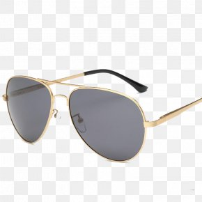 Dark Gray Metal Frame Sunglasses - Sunglasses Metal Fashion Accessory PNG
