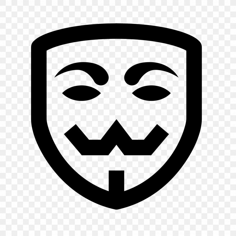 T-shirt Mask Anonymous Clip Art, PNG, 1600x1600px, Tshirt, Anonymous, Black And White, Face, Guy Fawkes Download Free