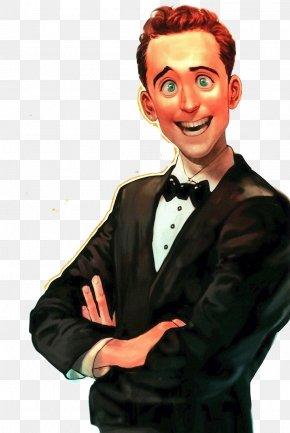 Boy Suit - Tuxedo Suit Cartoon Illustration PNG