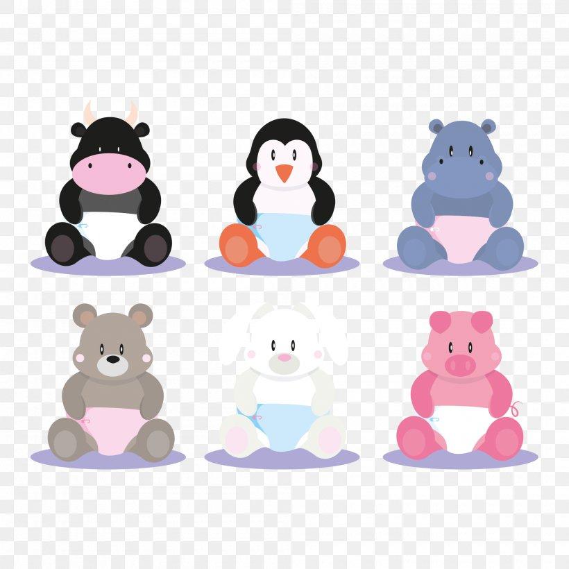 Vector Graphics Penguin Image Animal Lion, PNG, 2000x2000px, Penguin, Animal, Cartoon, Drawing, Giraffe Download Free