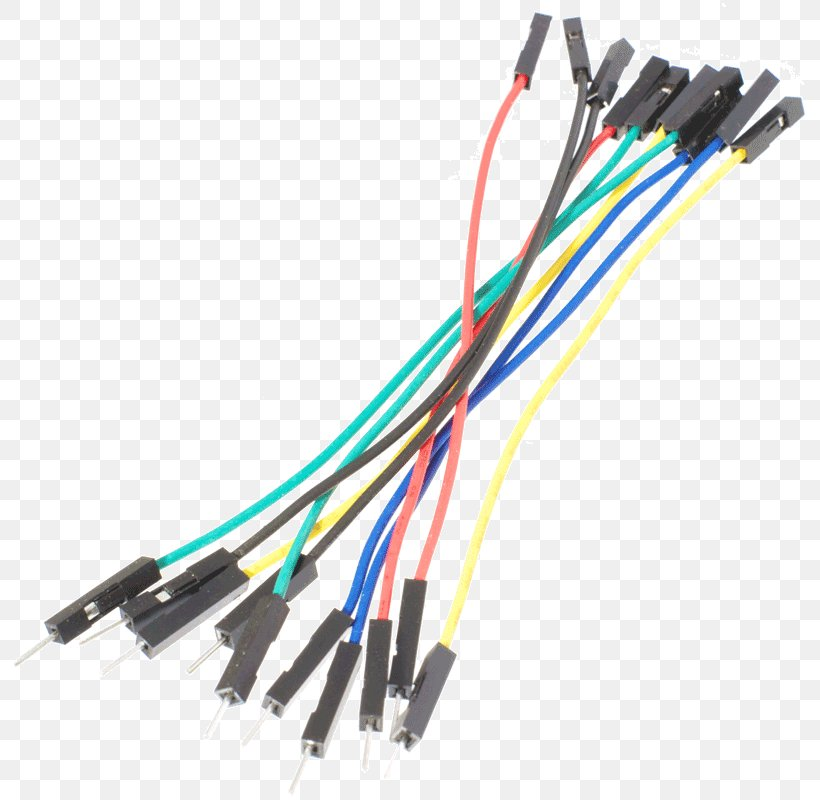 Jump Wire Jumper Breadboard Electrical Cable Png 800x800px Jump Wire Arduino Breadboard Cable Circuit Diagram Download