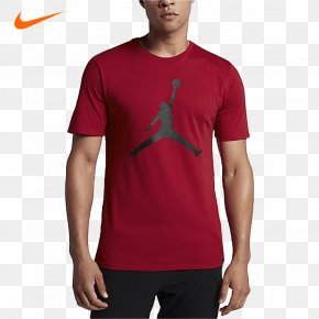 T-shirt - T-shirt Jumpman Air Jordan Clothing Shoe PNG