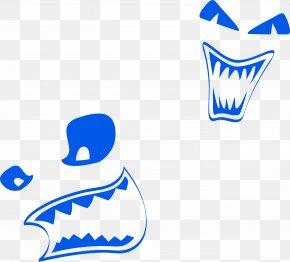 Blue Horror Grimace - Download Google Images Clip Art PNG