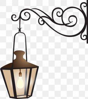 Wrought Iron Street Lamps - Lantern Royalty-free Clip Art PNG