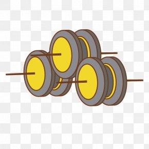 Barbell Equipment - Euclidean Vector Barbell PNG