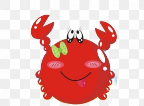 Red Big Crabs - Freshwater Crab Euclidean Vector PNG