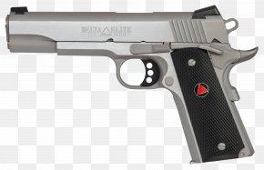 Pistol - Colt Delta Elite 10mm Auto Colt's Manufacturing Company M1911 Pistol PNG