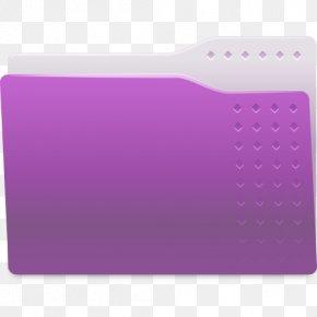 Violet - Directory Icon Design PNG