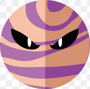 Evil Planet - Evil Euclidean Vector Planet PNG