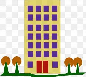 Apartment - Apartment House Building Clip Art PNG