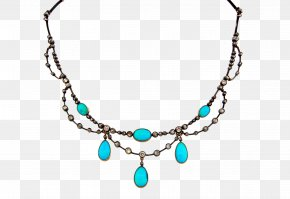 Creative Necklace - Turquoise Necklace Jewellery Ruby Red Coral PNG