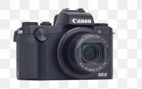 Camera Lens - Canon PowerShot G5 X Digital SLR Camera Lens Digital Photography PNG