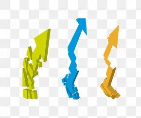Three-dimensional Vector Arrows - Euclidean Vector Arrow Three-dimensional Space PNG