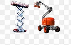 Machine Elevator Aerial Work Platform Belt Manlift Telescopic Handler PNG